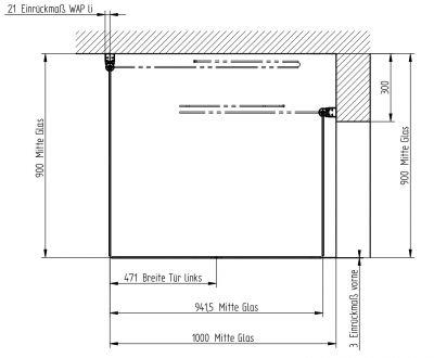 duschwand faltbar affordable falttr duschkabine mm. Black Bedroom Furniture Sets. Home Design Ideas