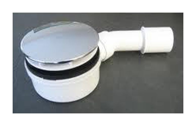 flacher siphon f r duschwanne nur 60 mm bauh he. Black Bedroom Furniture Sets. Home Design Ideas