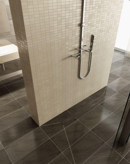 Begehbare Dusche Mit Rinne Maßanfertigung Bis 18 M² Mit