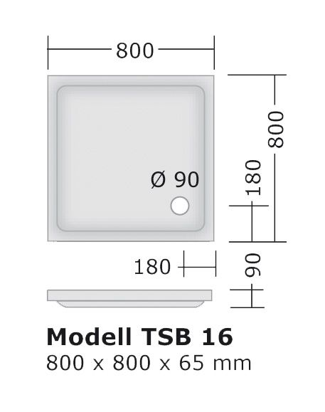 duschwanne 80x80 mepa fussgestell siphon komplett set ihr bad info. Black Bedroom Furniture Sets. Home Design Ideas