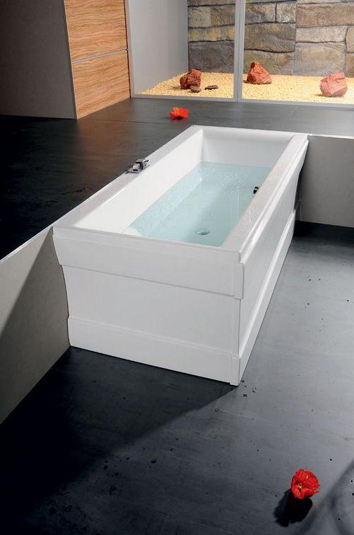 rechteckwanne 150 x 75 hocleo eck badewanne rechteckbadewannen. Black Bedroom Furniture Sets. Home Design Ideas