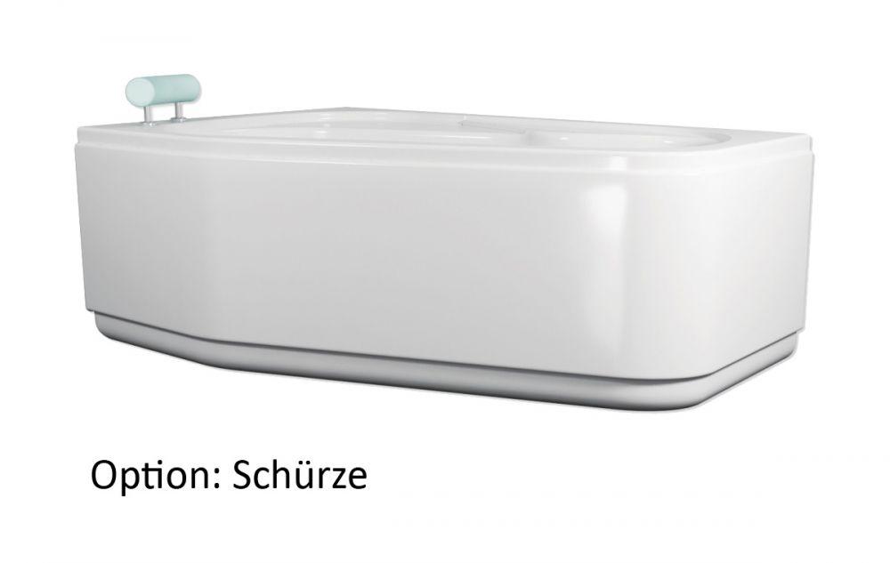 badewanne 160x100 cm raumsparwanne von ihr bad info. Black Bedroom Furniture Sets. Home Design Ideas