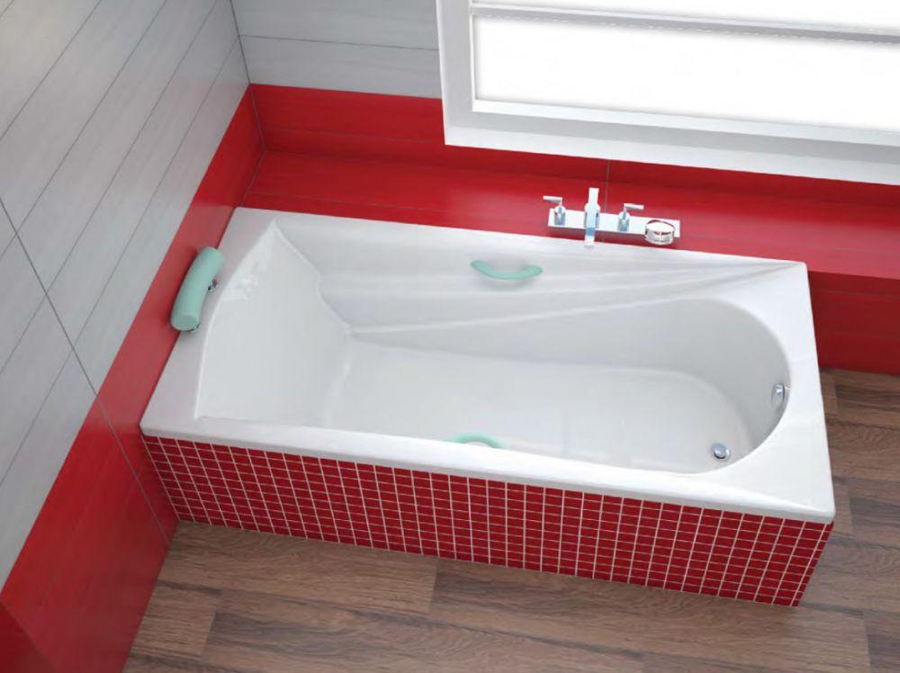 Badewanne 180 X 80 Etna Rechteckbadewanne Badewanne Mit Dusche
