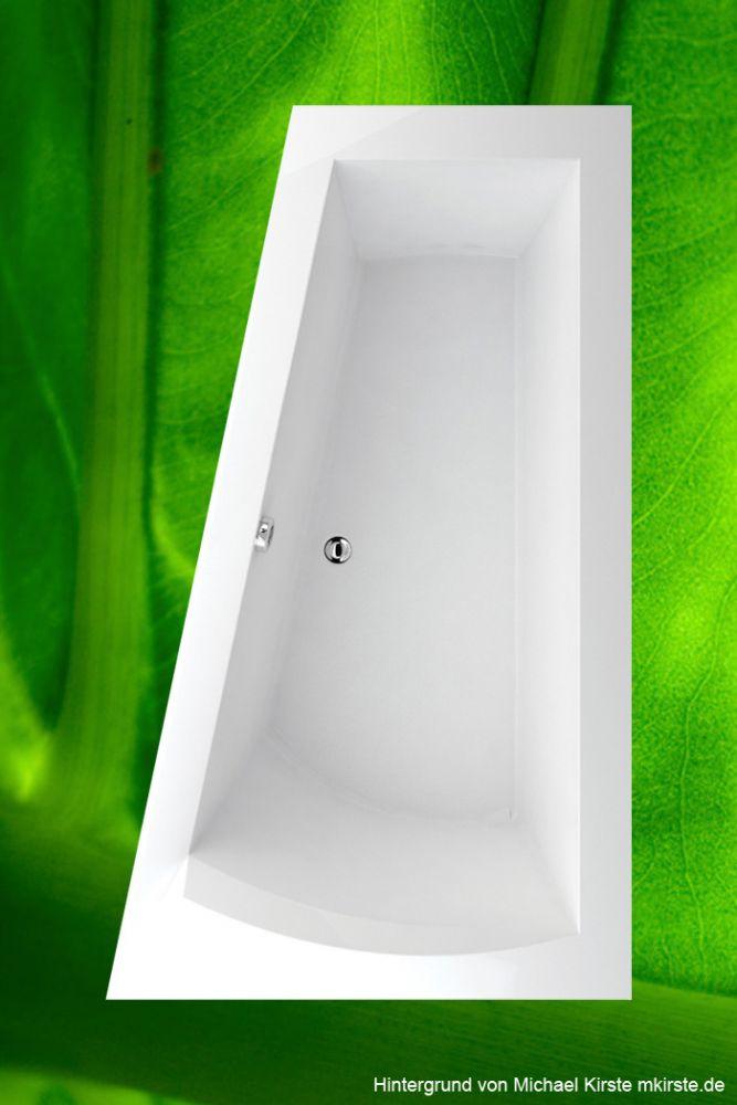 trapez badewanne wannentr ger excenter 170x100 r. Black Bedroom Furniture Sets. Home Design Ideas