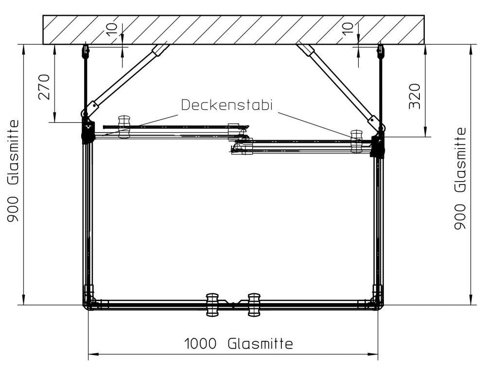 duschkabine u form auf ma made in germany ihr bad info. Black Bedroom Furniture Sets. Home Design Ideas