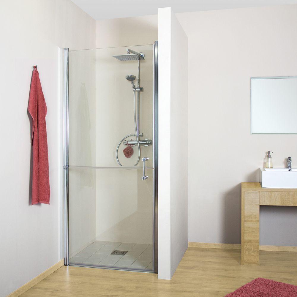 pflegedusche nische 90 cm f r barrierefreies bad ihr bad info. Black Bedroom Furniture Sets. Home Design Ideas