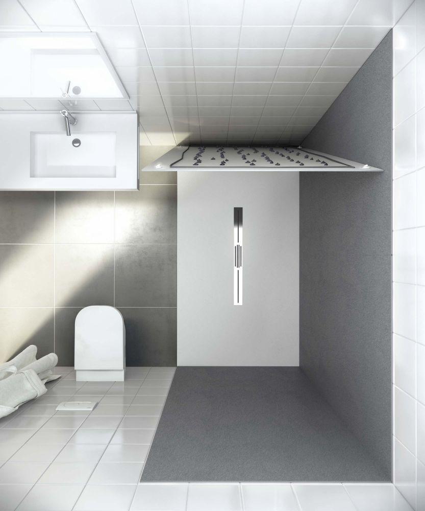 dusche mit rinne dusche von kostenloser versand. Black Bedroom Furniture Sets. Home Design Ideas