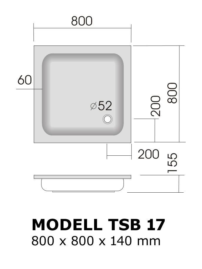 duschtasse 80x80 cm 14 cm flach duschtassen duschbadewanne anti rutsch duschtasse flach. Black Bedroom Furniture Sets. Home Design Ideas