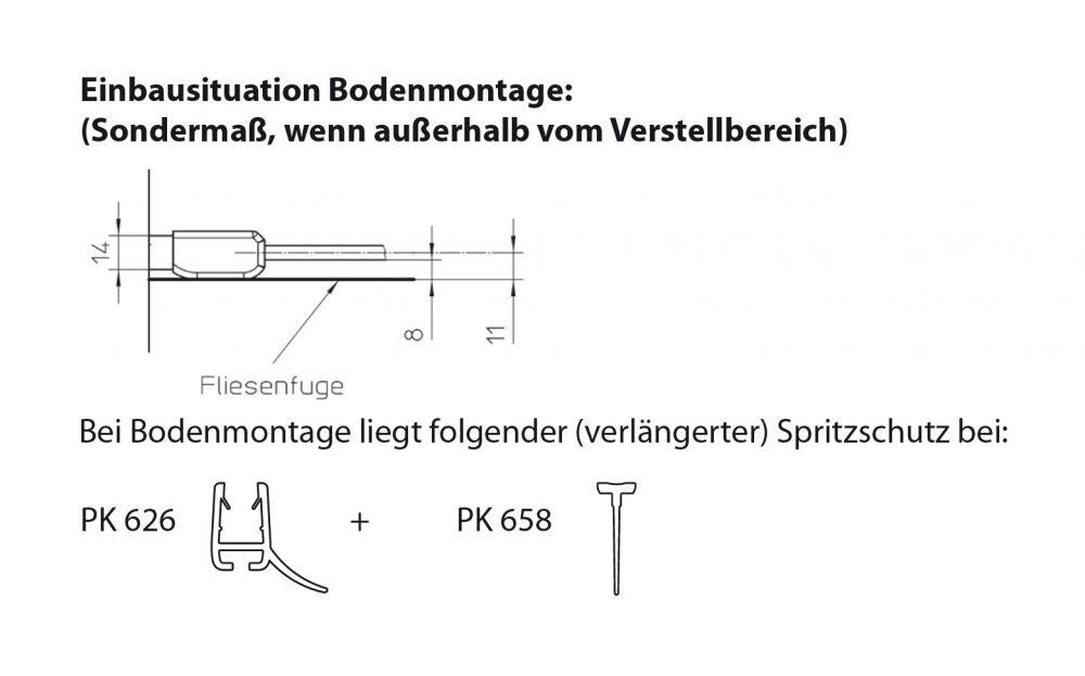 eckdusche 90x90 x200 cm eck kombination von ihr bad info. Black Bedroom Furniture Sets. Home Design Ideas