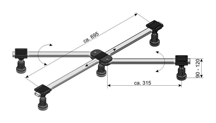 duschwanne 140x80 acryl duschtasse super flach ihr bad info. Black Bedroom Furniture Sets. Home Design Ideas
