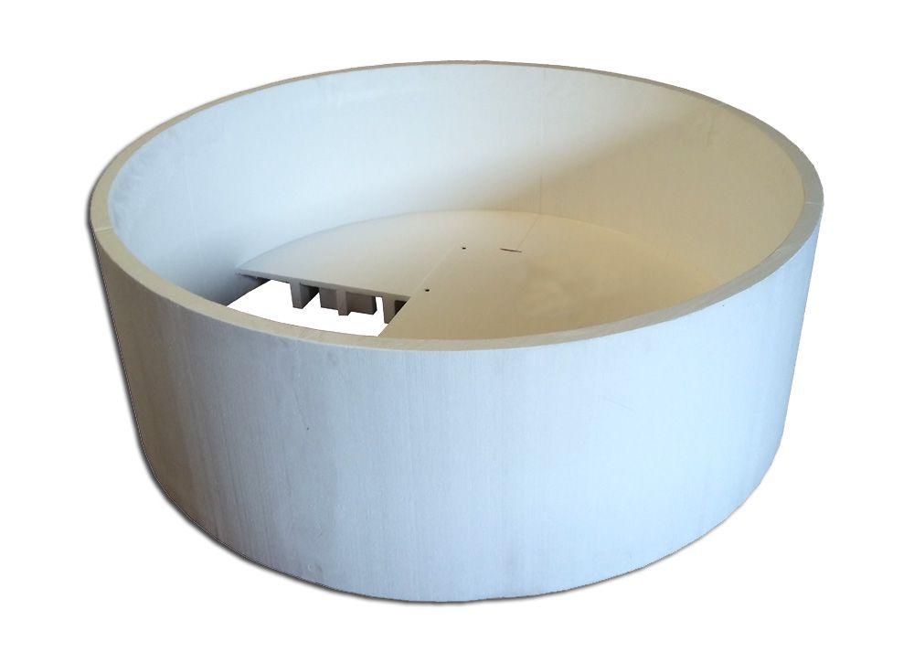 badewanne 175 cm space rundbadewanne badewanne mit. Black Bedroom Furniture Sets. Home Design Ideas