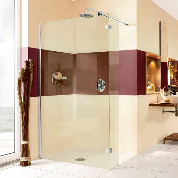 spritzschutz dusche als walk in 140x200 cm bxh ihr bad info. Black Bedroom Furniture Sets. Home Design Ideas