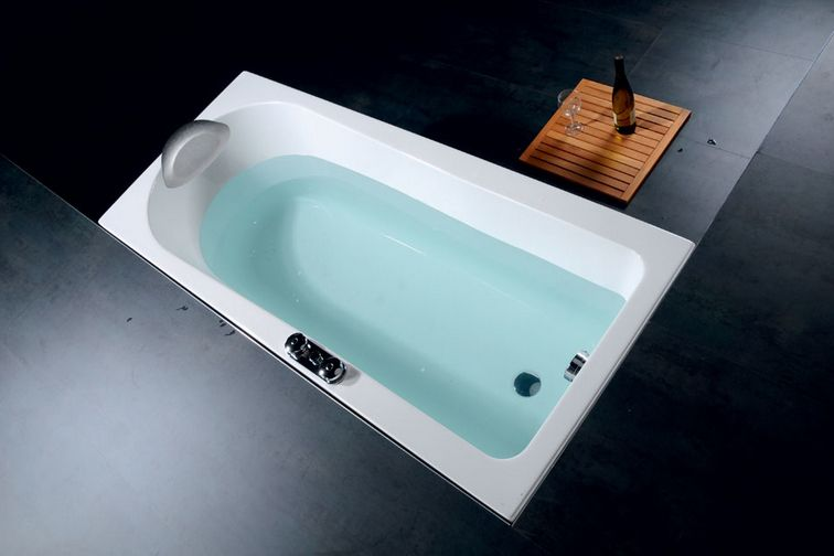 rechteck badewanne 160x70 cm whirlpool m glich hergestellt in europa ihr bad info. Black Bedroom Furniture Sets. Home Design Ideas