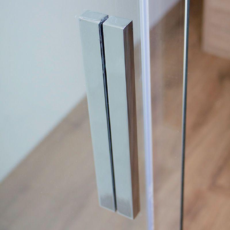 Duschabtrennung Schiebetür Ecke 120x90 Mit Wandschiene Ihr Badinfo