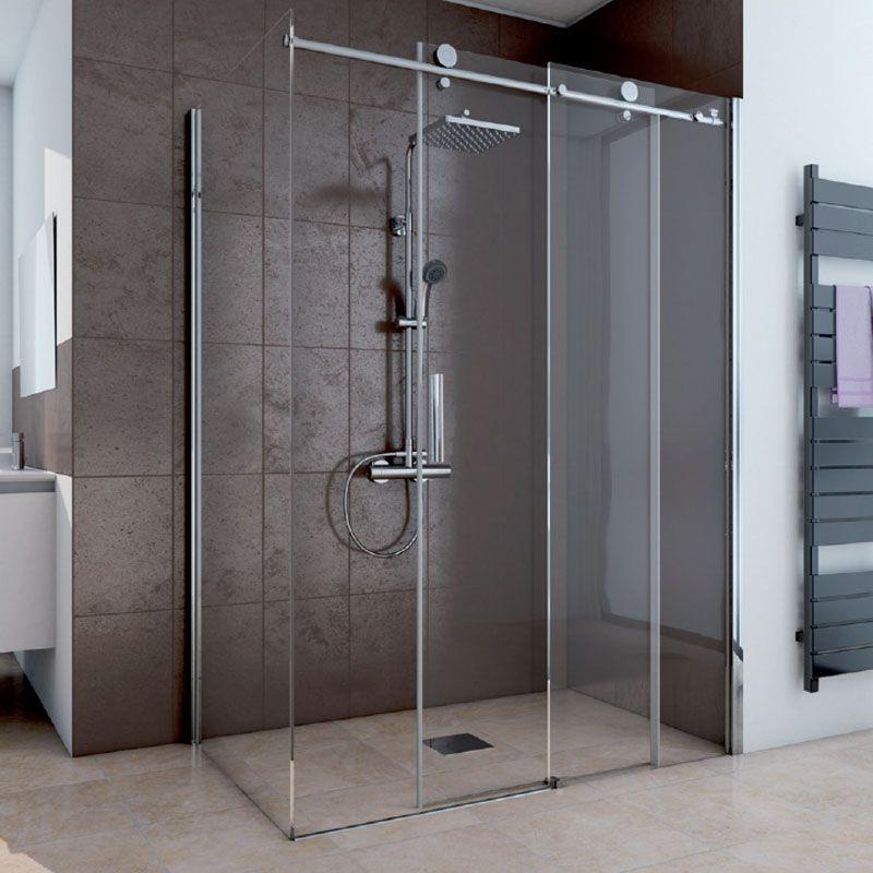 Gut gemocht Duschkabine Eckeinstieg 130x90 , Echtglas Dusche | IHR-BAD.INFO CL82