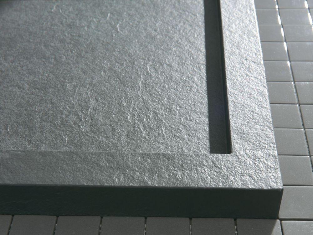 Begehbare Dusche Mineralguß 140 X 90 Bodengleiche Dusche Walk In