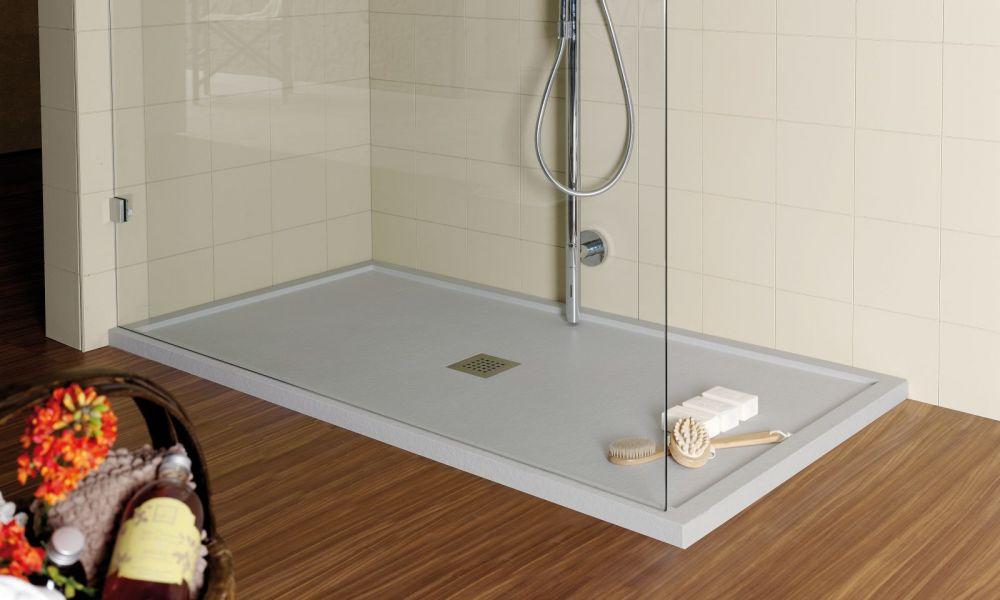 Begehbare Dusche Mineralguss 150 X 110 Bodengleiche Dusche Walk In