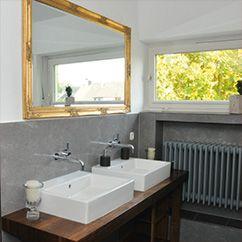 Duschrückwand 210x100 cm, Bad ohne Fugen | von IHR-BAD.INFO