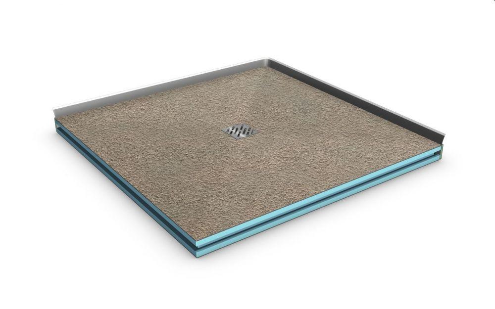 begehbare dusche 170x90 cm bodengleiche dusche ebenerdige dusche dusche ebenerdig. Black Bedroom Furniture Sets. Home Design Ideas