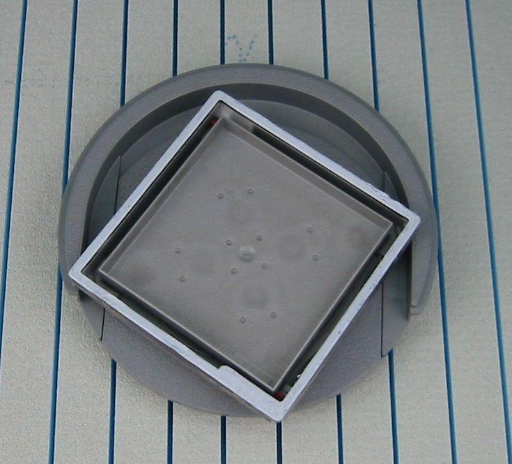 befliesbarer rost zusatzoption zu befliesbarem duschelement bodengleiche dusche ebenerdige. Black Bedroom Furniture Sets. Home Design Ideas