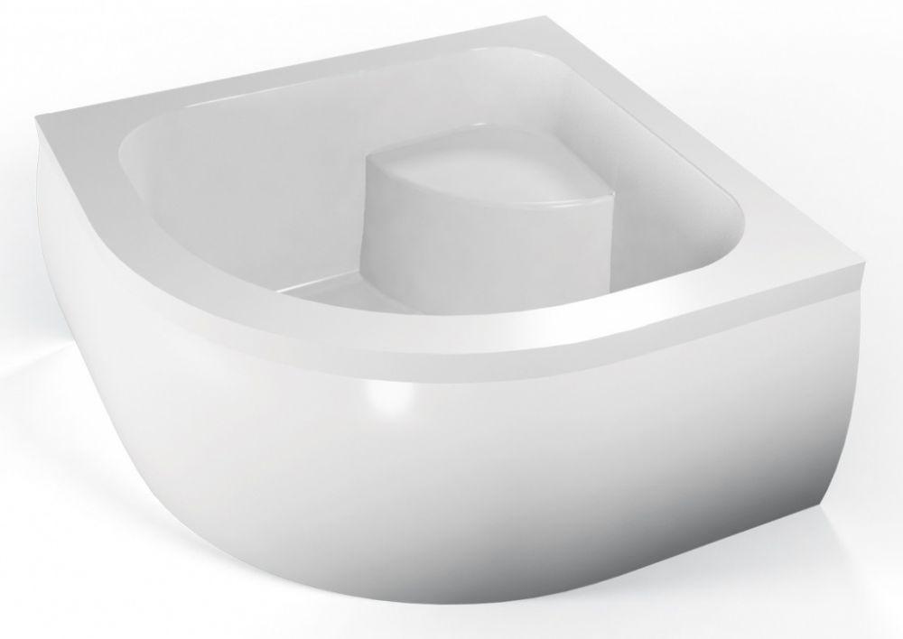 duschtasse 90x90 cm 35 cm radius 55 cm viertelkreis. Black Bedroom Furniture Sets. Home Design Ideas