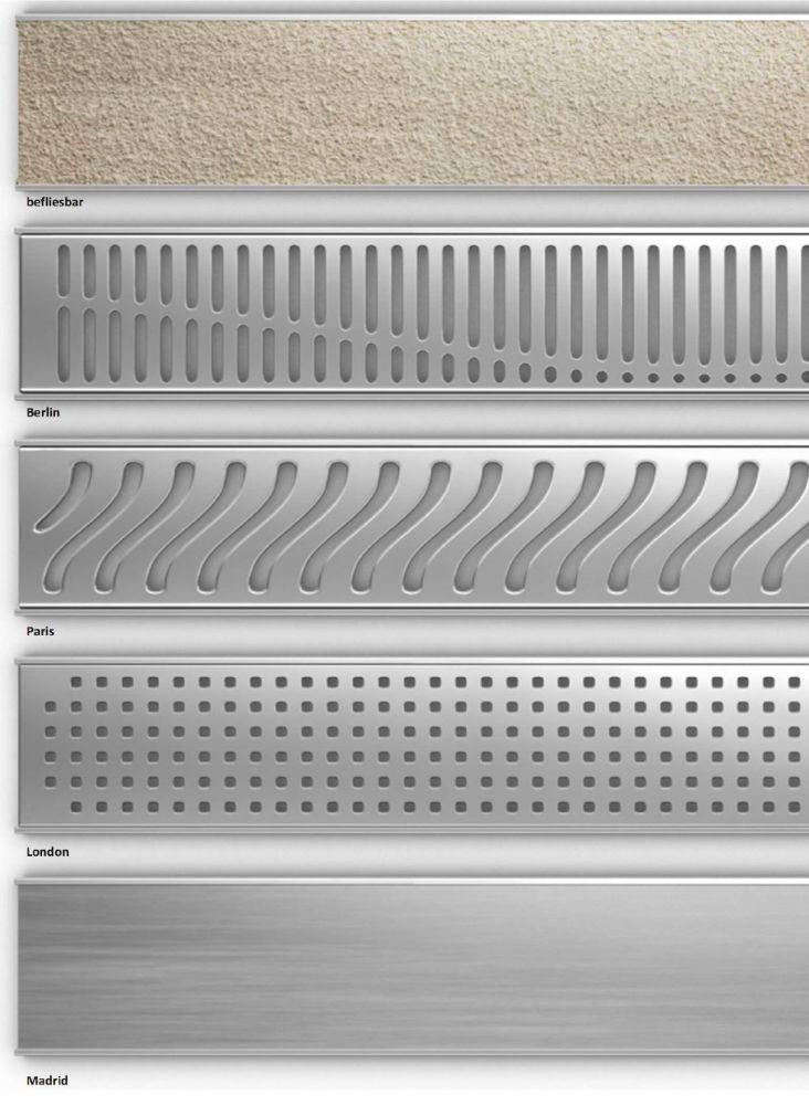 Begehbare Dusche 80x80 Cm Mit 70 Cm Rinne Edelstahl Bodengleiche