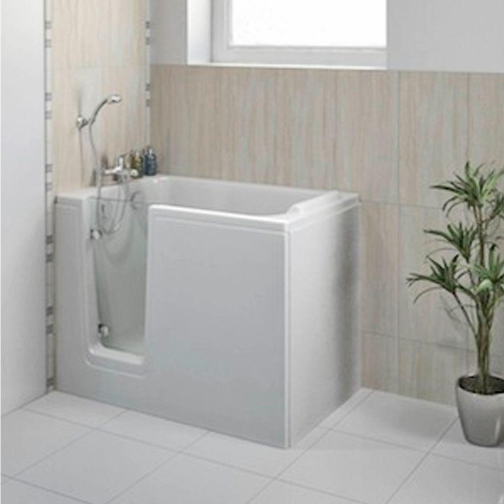 badewanne 121x65 cm hodeep links raumsparbadewanne. Black Bedroom Furniture Sets. Home Design Ideas