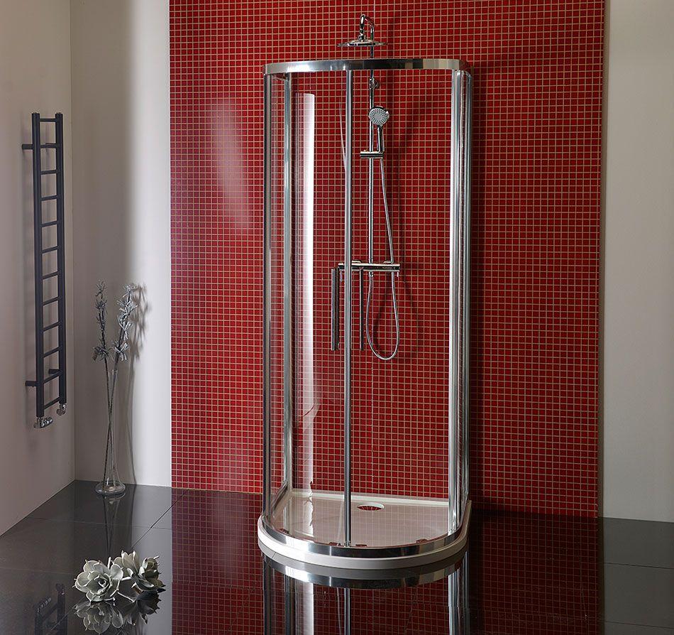 duschkabine 100x100 cm runddusche halbkreis von ihr bad info. Black Bedroom Furniture Sets. Home Design Ideas