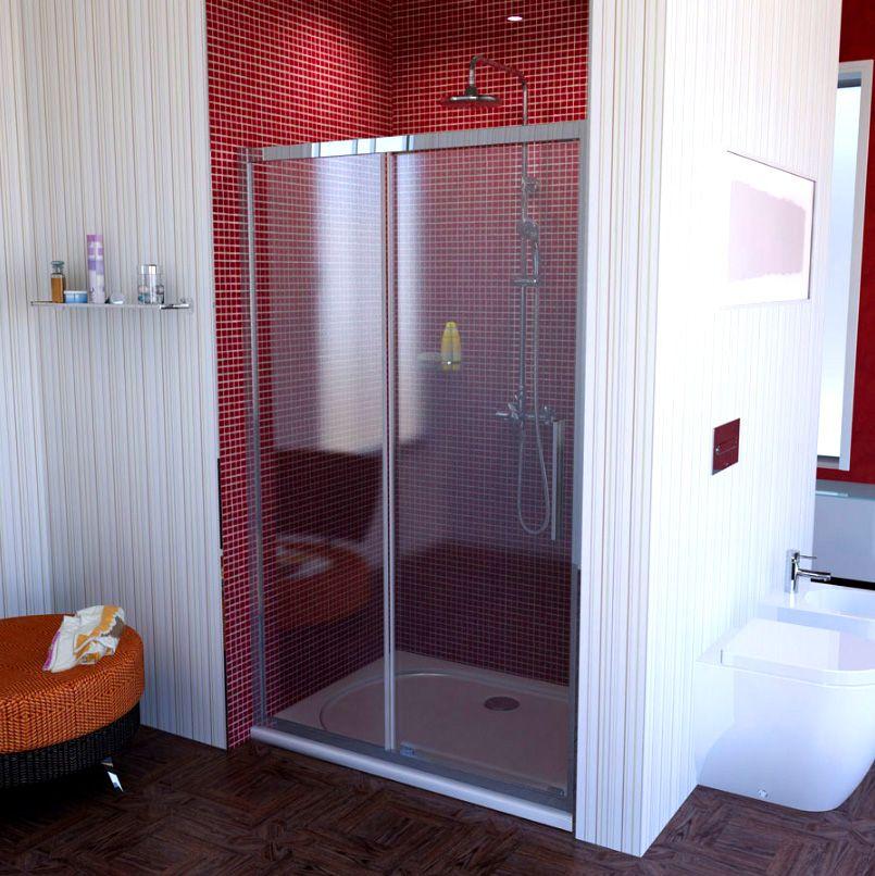 Duschtür Nische 120x200 Cm Schiebetür Von Ihr Badinfo