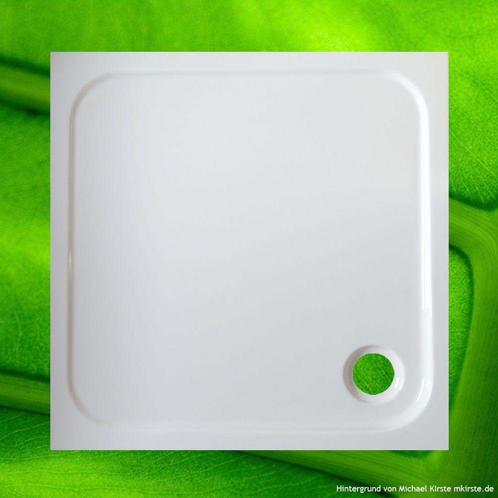 Duschtasse 80x80 Cm 2 5 Cm Flach Duschtassen Duschbadewanne Anti