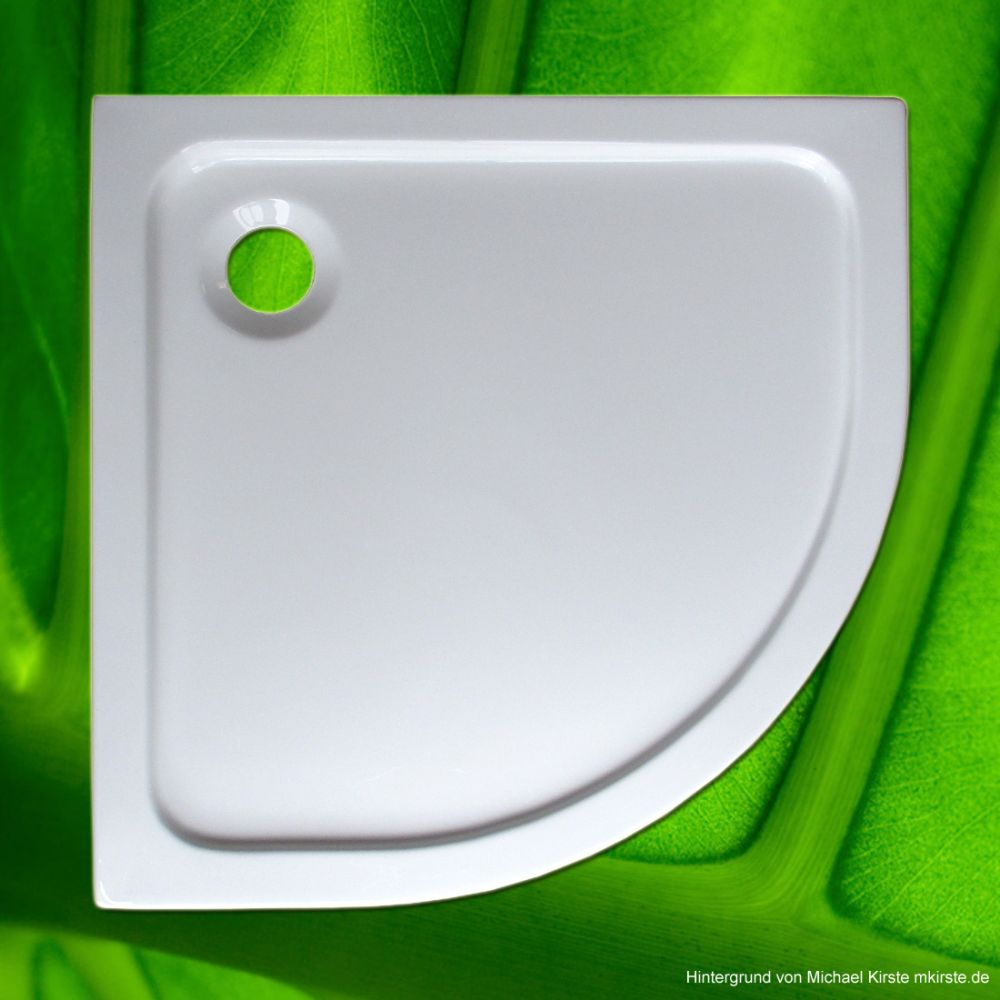duschtasse 90x90 cm 3 cm radius 55 cm viertelkreis duschtassen duschbadewanne anti rutsch. Black Bedroom Furniture Sets. Home Design Ideas