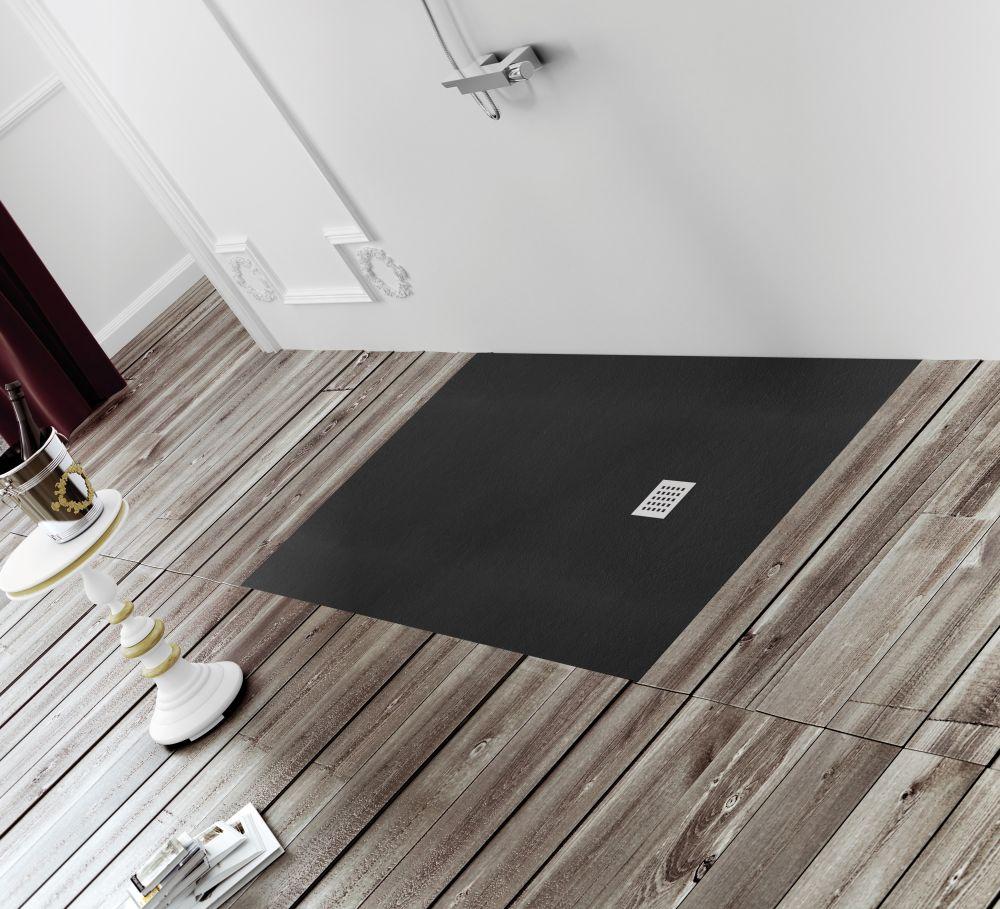 Duschwanne Bodengleich begehbare dusche mineralguß 110 x 110 bodengleiche dusche walk in