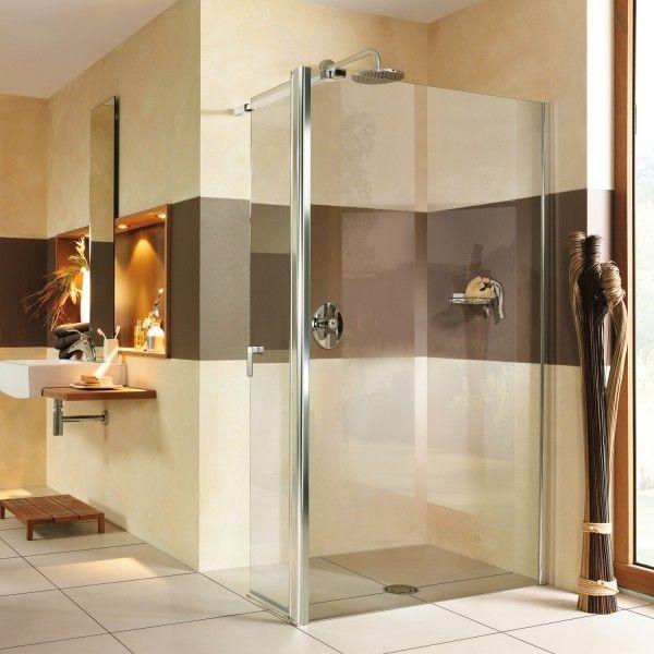 walk in bodengleiche duschabtrennung mit pendelt r auf ma bis 160x220 cm bxh esg 6mm. Black Bedroom Furniture Sets. Home Design Ideas