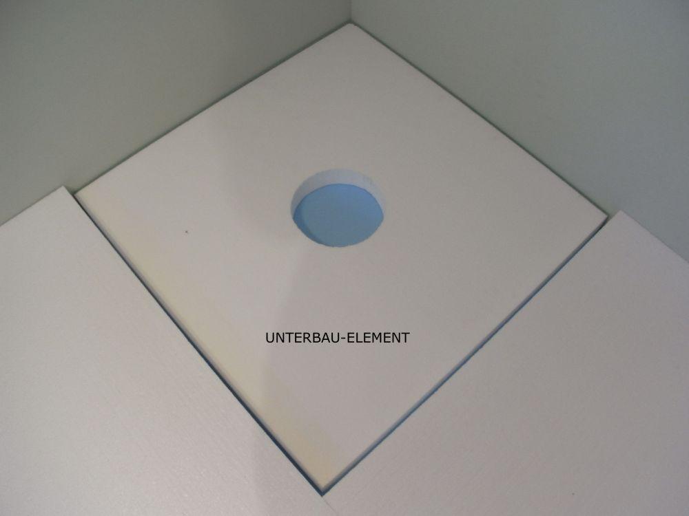 Cool UNTERBAU-Element 30 mm - Zusatzoption zu befliesbarem Duschelement  RF33