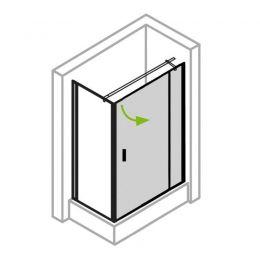ECKDUSCHE / Tür(en)-Seitenwand » MADE IN GERMANY « von IHR-BAD.INFO
