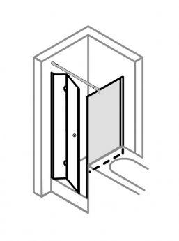 begehbare dusche mit rinne ma anfertigung bis 1 0 m mit verschiedenen rinnen kombinierbar. Black Bedroom Furniture Sets. Home Design Ideas