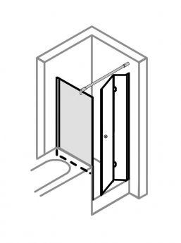 begehbare dusche mit rinne ma anfertigung bis 1 0 m mit. Black Bedroom Furniture Sets. Home Design Ideas